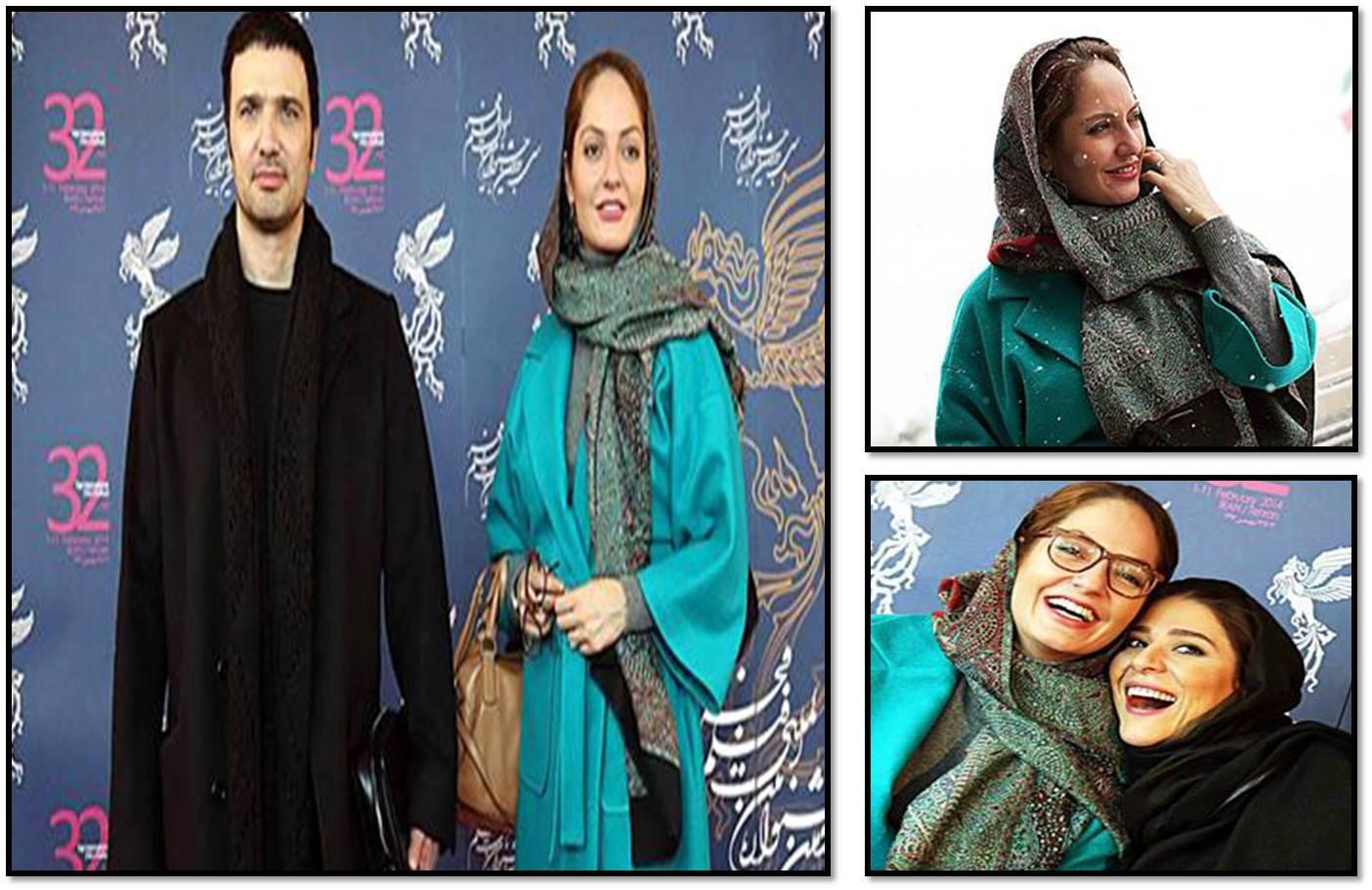 سری دوم عکس های مهناز افشار در حاشیه روز چهارم جشنواره فیلم فجر