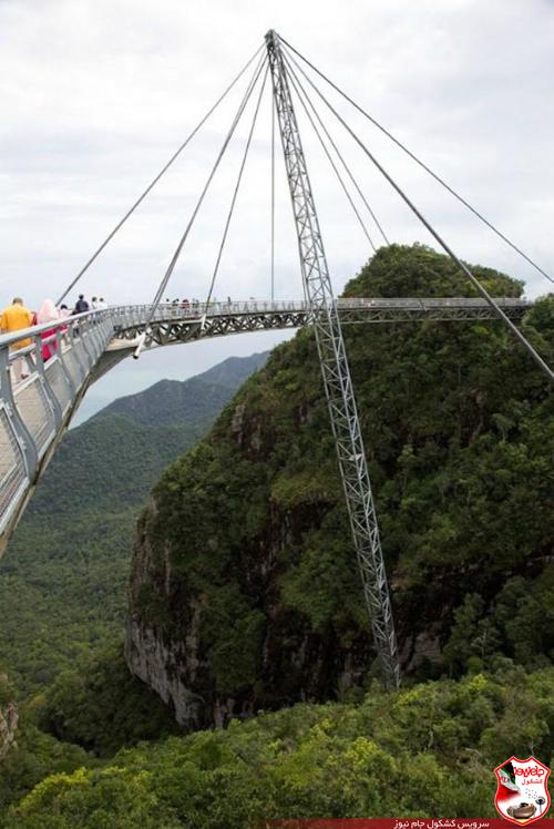 عکس های وحشتناک ترین پل در ارتفاع 700 متری