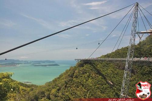 Jamnews sky bridge 3 عکس های وحشتناک ترین پل در ارتفاع 700 متری