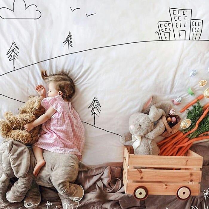 ایده های ساده عکاسی مادر و کودک
