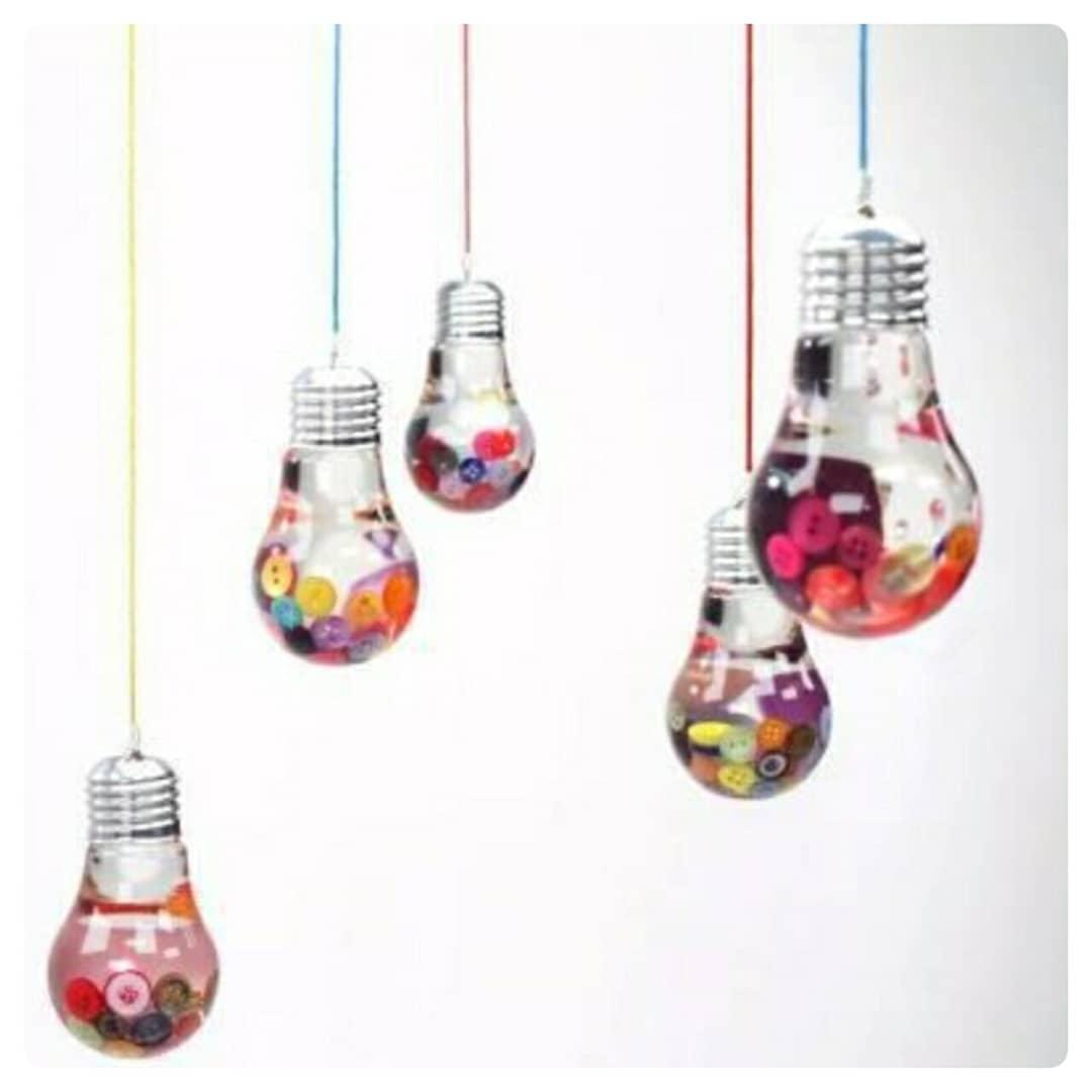 استفاده جالب از حبابهای لامپ