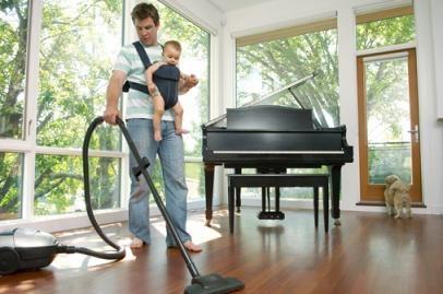 اهمیت کار کردن مرد در خانه