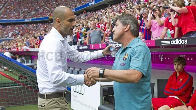 تصاویر بازی بارسلونا - بایرن مونیخ - پیش فصل