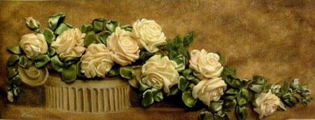 آموزش درست کردن گل روبانی (گل رز)