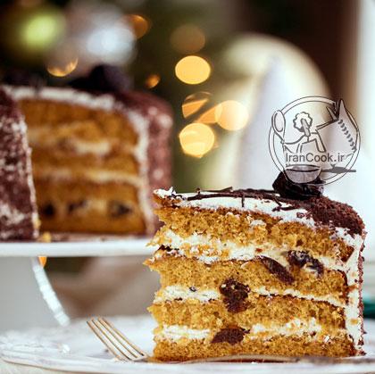 آموزش درست کردن کیک عسلی
