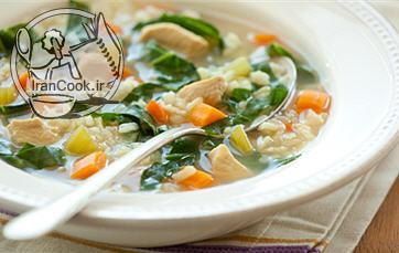 آموزش درست کردن سوپ سبزیجات چربی سوز