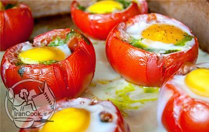 آموزش درست کردن املت گوجه کبابی