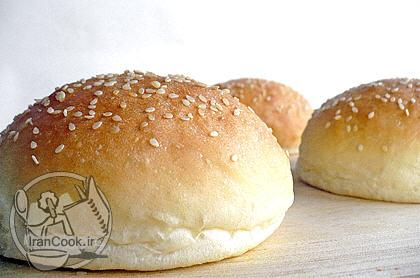 آموزش درست کردن نان همبرگر