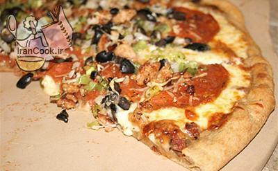آموزش درست کردن خمیر پیتزا ایتالیایی