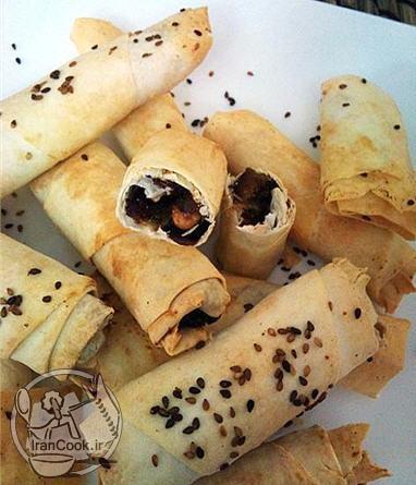 آموزش درست کردن نان خرمایی یا خمیر یوفکا
