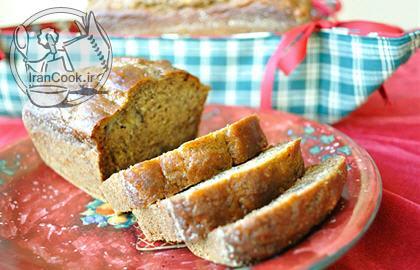 آموزش درست کردن نان موز و گردو دارچینی