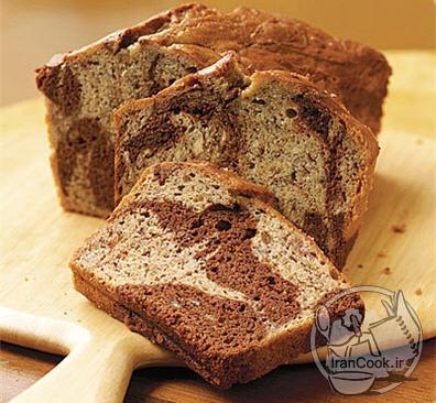 آموزش درست کردن نان موز و شکلات