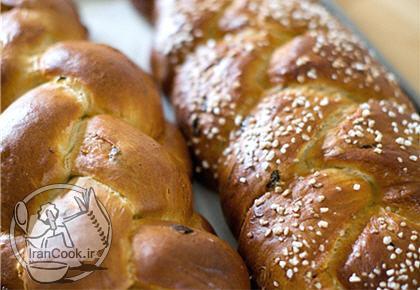 آموزش درست کردن نان شیرمال
