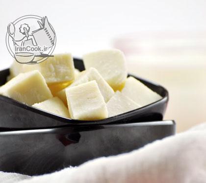 آموزش درست کردن پنیر سفید خانگی