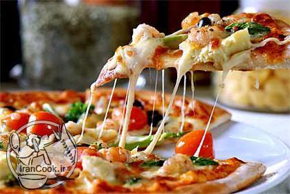 آموزش درست کردن پیتزا مخلوط