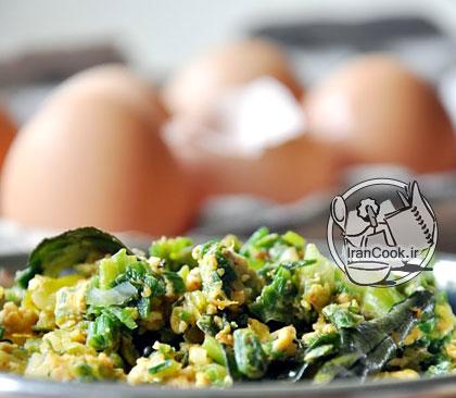 آموزش درست کردن سالاد تخم مرغ رژیمی