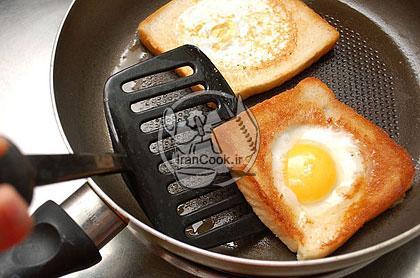 آموزش درست کردن اسنک تخم مرغ