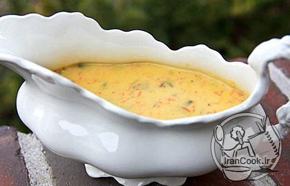 آموزش درست کردن سوپ قارچ و هویج