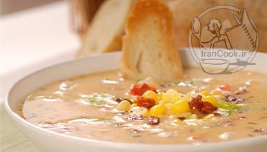 آموزش درست کردن سوپ سبزیجات مجلسی
