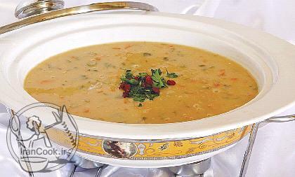 آموزش درست کردن سوپ سبزیجات