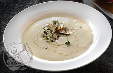 آموزش درست کردن سوپ سیر