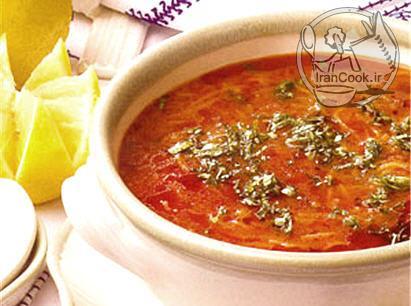 آموزش درست کردن سوپ ورمیشل