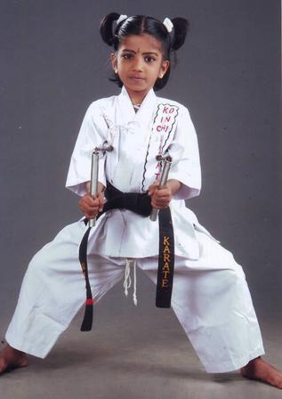 سلاح کاراته چیست