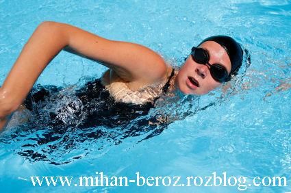 گام اولیه آموزش شنا