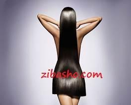 صاف کردن مو بدون مواد یا اتو