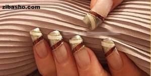 آموزش یک طراحی زیبا برای ناخن