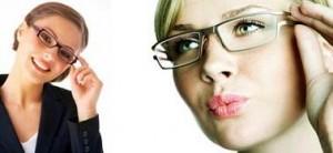 چند توصیه آرایشی برای عینکی ها