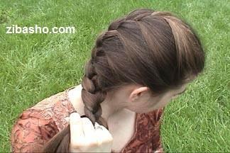 موهایتان را فرانسوی ببــافید