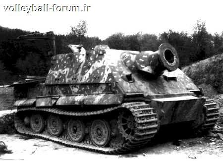 آشنایی با توپ سنگین اشتورم تایگر آلمان نازی !