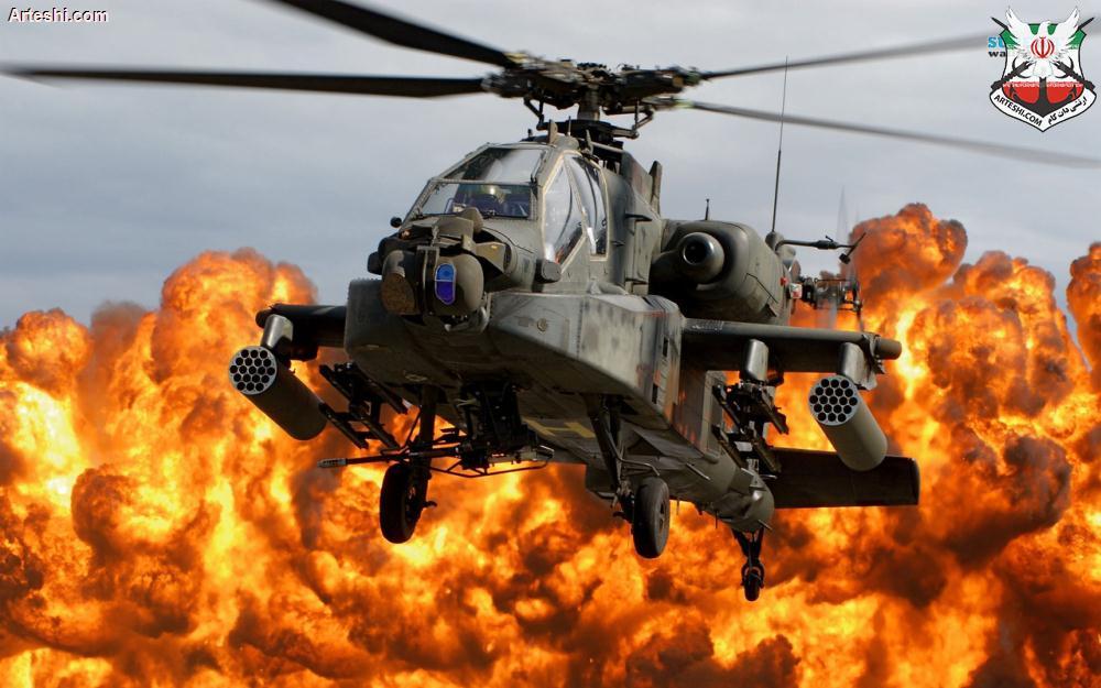 معرفی کامل بالگرد مخوف آپاچی (AH-64 Apache)،برترین هلیکوپتر تهاجمی دنیا !