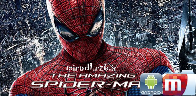دانلود بازی مرد عنکبوتی شگفت انگیز The Amazing Spider-Man v1.1.9 همراه دیتا