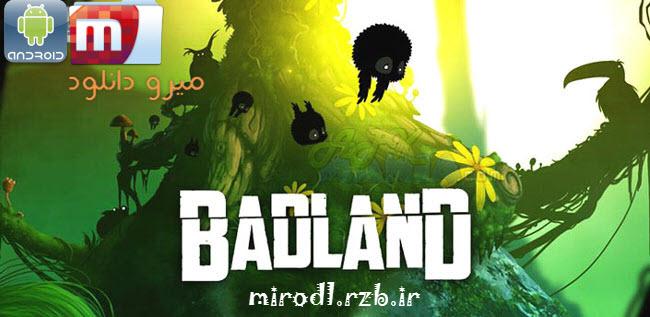 دانلود بازی فوق العاده زیبا و گرافیکی BADLAND v1.7097 بدون نیاز به دیتا