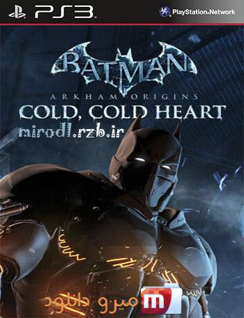 دانلود DLC بازی Batman Arkham Origins A Cold Cold Heart برای PS3