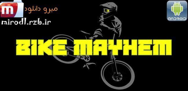 دانلود بازی مسابقات دوچرخه سواری کوهستان Bike Mayhem Mountain Racing