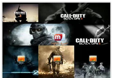 مجموعه تم های کال اف دیوتی Call Of Duty Windows Theme