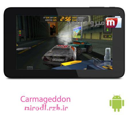 بازی رانندگی وحشیانه Carmageddon v1.1.479 – اندروید
