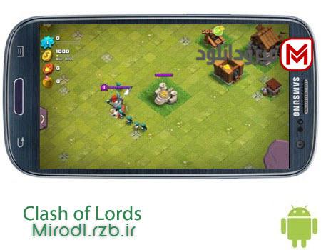 بازی آنلاین استراتژی Clash of Lords 2 v1.0.170 – اندروید