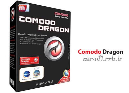 نرم افزار مرورگر سریع Comodo Dragon 31-1-0-0 Final