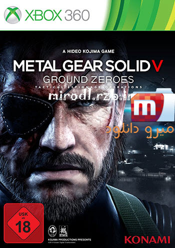دانلود بازی Metal Gear Solid V: Ground Zeroes برای XBOX360