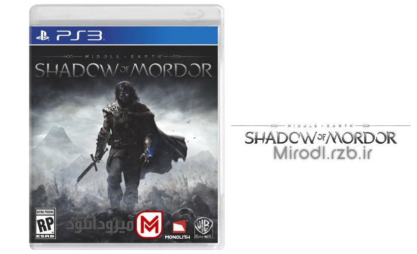 دانلود بازی Middle Earth Shadow Of Mordor برای PS3