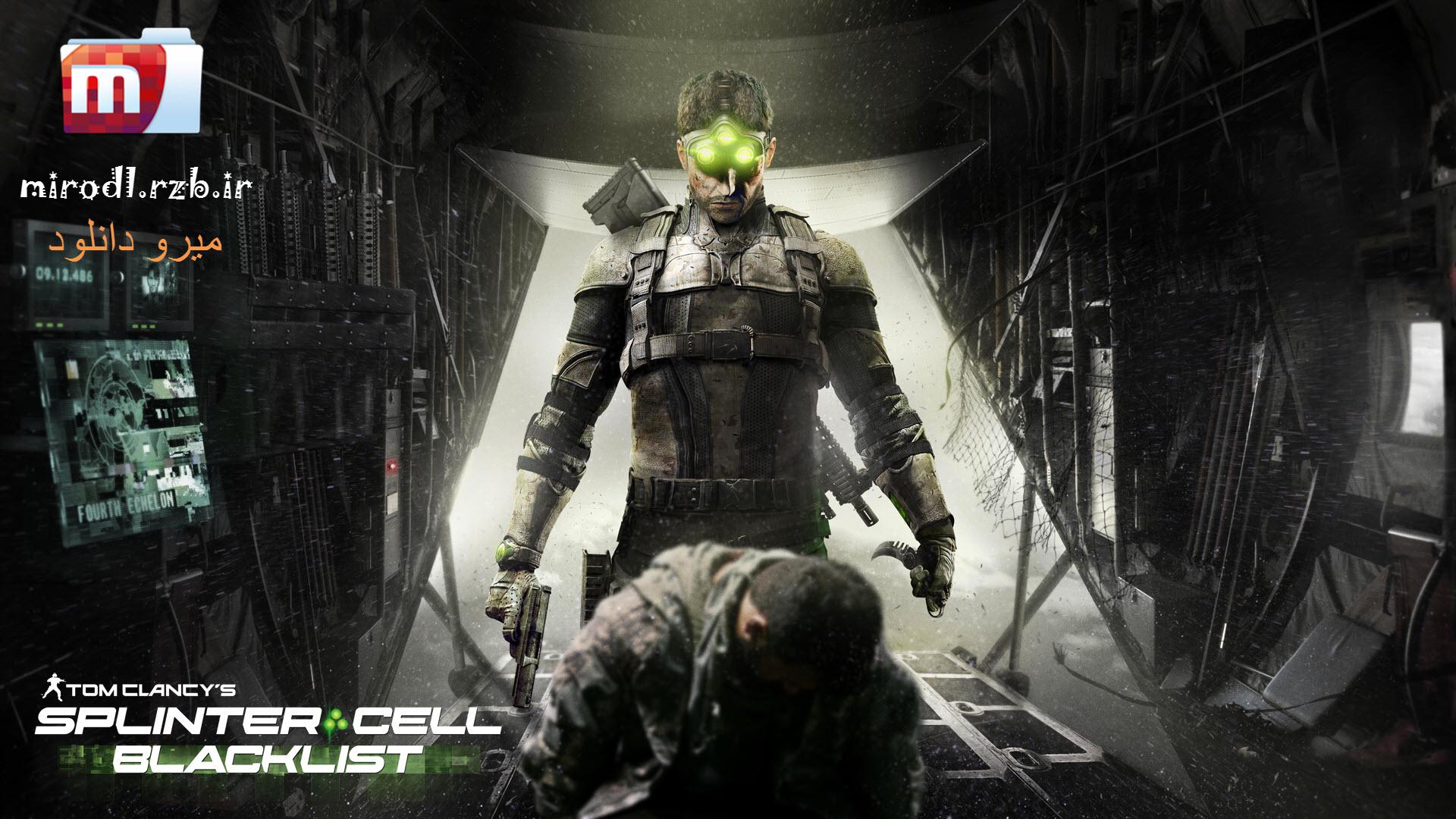 دانلود بازی Splinter Cell Blacklist برای PC با لینک مستقیم + کرک
