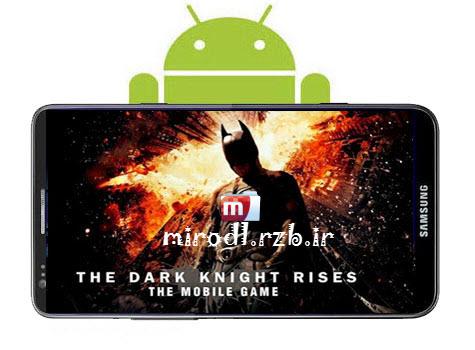 دانلود بازی بتمن : شوالیه تاریکی برمی خیزد The Dark Knight Rises v1.1.3 همراه دیتا + طلای بی نهایت-اندروید