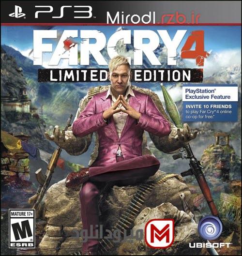 دانلود بازی Far Cry 4 برای PS3