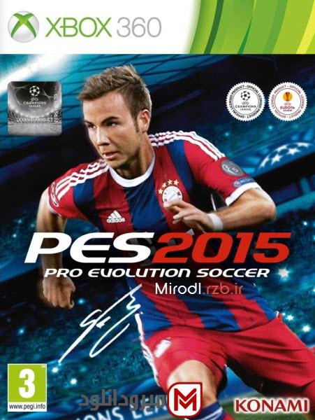 دانلود بازی Pro Evolution Soccer 2015 برای XBOX360