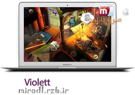 بازی زیبا و فکری Violett 1.23 – مک
