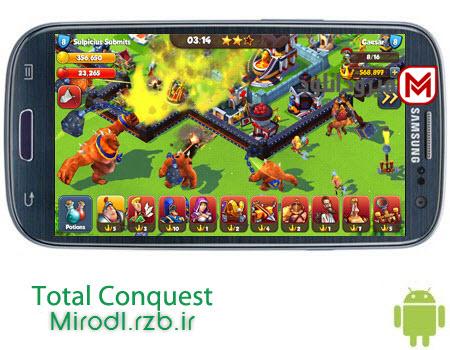 بازی دفاع از قلعه Total Conquest 1.8.1a – اندروید